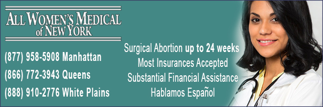 All Women's Medical of New York - late abortion clinic in Manhattan, Quees, White Plains, NY