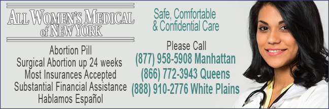 All Women's Health Centers -abortion clinics in New York