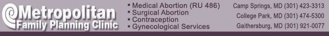 Metropolitan Family Planning Clinic - abortion clinics in Maryland