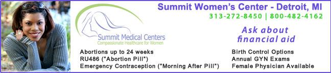 Summit Women's Center - Detroit, Michigan abortion clinic