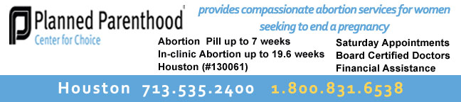Texas Abortion Clinics - Planned Parenthood Center for Choice in Houston, TX